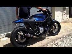 Bare Bone Rides 1989 Yamaha FJ1200 Bad-Ass Brawler Build by BBR (Fired-Up/Walk-Around) - YouTube