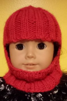 American Girl Knit Ski Hat