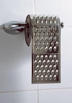 Chema Madoz (a grater as toilet roll, this makes me smile)