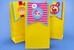 {free} printable goody bag toppers