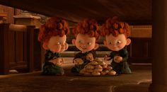 The red-headed triplets Harris, Hubert and Hamish are definite slapstick show-stealers, and ridiculously cute to boot. Description from news.moviefone.com. I searched for this on bing.com/images