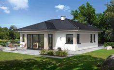 Model House Plan, Bedroom House Plans, Dream House Plans, Small House Plans, Bungalow Style House, Modern Bungalow, Bungalow House Plans, Country Backyards, One Storey House