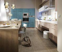 Cuisine Eyre taupe brillant | couleur cuisine | Pinterest | Meuble ...