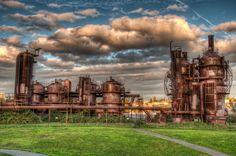 Gas Works Park Seattle Washington | Photo Credit: Journeys in Light Photo Blog