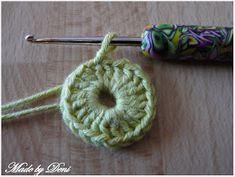 Made by Deni: . Crochet Earrings, Jewelry, Jewels, Schmuck, Jewerly, Jewelery, Jewlery, Fine Jewelry, Ornament
