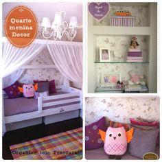 Decoração e Organização do quarto de menina ou adolescente