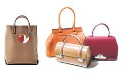 Moynat bags: Petite Quattro Reversible  $3275 Pauline $4475 Cabotin $4075 Petite Rejane $5275