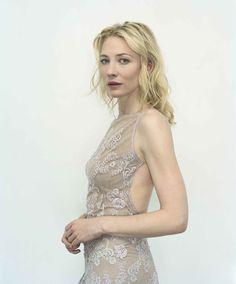 Rineke Dijkstra portretteerde Cate Blanchett.