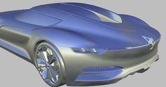 Renault Trezor 3D Alias Model