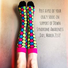 LYF Socks supports Down Syndrome Awareness Day!