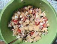 Bramborový salát s celerem a jablky Oatmeal, Grains, Breakfast, Food, The Oatmeal, Morning Coffee, Rolled Oats, Essen, Meals