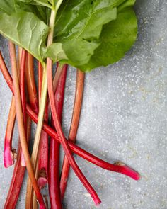 Rhubarb: Our Best Sweet And Savory Recipes For This Spring Treat Martha Stewart - Also Known As Pieplant, Rhubarb Has A Tart Flavor And Bright Color. Here, Find Our Favorite Recipes Featuring This Spring Vegetable. Best Rhubarb Recipes, Fruit Recipes, Salad Recipes, Dessert Recipes, Cooking Recipes, Dessert Ideas, Rhubarb Desserts, Dessert Food, Easy Cooking