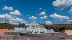 Fountain at Imagination Pavilion EPCOT | Familie Sterr
