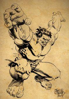 The Hulk By Sergio Cariello