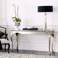 Silver Side Tables For Living Room