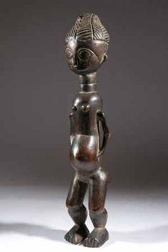 La statue Agni met en relation l'art et la magie en Afrique