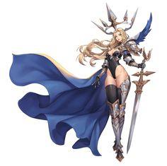ArtStation - Knight ArtStation - Knight of queen Purple Moon 3d Fantasy, Fantasy Armor, Anime Fantasy, Fantasy Girl, Fantasy Character Design, Character Design Inspiration, Character Art, Female Character Concept, Fantasy Characters