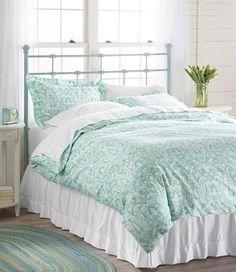 Wrinkle Resistant King Comforter Cover, Damask: Sheet Sets | Free Shipping at L.L.Bean