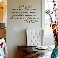 Bless This Food Before Us Wall Decal Dining Room Meal Prayer - Instructions on how to put up a wall sticker