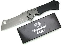 Snake Eye Tactical Heavy Duty Assisted Open Razor Style Folding Pocket Knife Outdoors Camping Hunting Fishing (Black). For product & price info go to:  https://all4hiking.com/products/snake-eye-tactical-heavy-duty-assisted-open-razor-style-folding-pocket-knife-outdoors-camping-hunting-fishing-black/