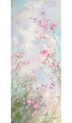 Morning Meadow by Debi Coules - Debi Coules Romantic Art