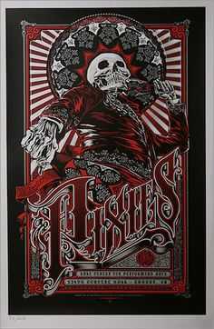 Pixies, Australian Tour Poster
