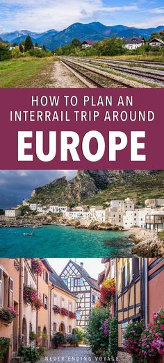 Wondering how to plan an interrail trip around Europe? It's a great way to slow travel on a budget and take in the gorgeous sights. Here are our top places to visit, tips on what train route to take, and some ideas for your planning. Travel Around Europe, Europe Travel Tips, Travel And Leisure, Travel Around The World, Travel Goals, Budget Travel, Train Travel, Travel Usa, Travel Pics