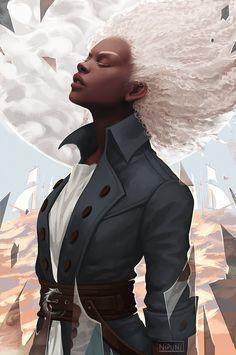 Dnd Characters, Fantasy Characters, Female Characters, Character Concept, Character Art, Concept Art, Character Ideas, Cyberpunk, 8bit Art