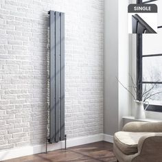 Vertical radiators come in all styles & sizes! Choose from small or tall radiators, flat panel, tube or vertical column radiators. Bedroom Radiators, Flat Panel Radiators, Vertical Radiators, Column Radiators, Wall Heater Cover, Radiator Valves, Radiator Heater, Living Room Tv Unit Designs, Home