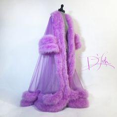 "Image of Double Deluxe ""Bridgette"" Dressing Gown Wedding Night Lingerie, Bridal Lingerie, Pretty Lingerie, Beautiful Lingerie, Fancy Robes, Crazy Leggings, Peignoir, Royal Dresses, Nightgowns For Women"
