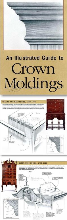 Crown Moldings - Furniture Molding Construction Techniques | WoodArchivist.com