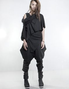Demobaza - Top Dusty Doubled Black