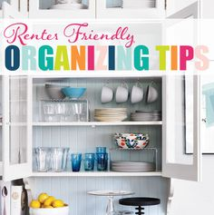 Renter Friendly Organizing Tips - IHeart Organizing