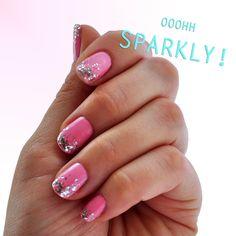 Confetti Bubblegum Nail Art Via Ditty Drops Blog. Fun, Flirty, and SO easy! #sephora #nailspotting