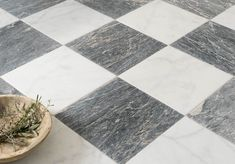 Floors of Stone offer a range of marble tiles, suitable for both walls & floors. Polished, honed & tumbled finishes are available to suit every project. Honed Marble, Marble Tiles, Marble Floor, Checkered Floor Kitchen, Checkered Floors, Porch Flooring, Kitchen Flooring, Black Laminate Flooring, Checkerboard Floor