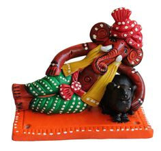 Buy #terracotta #ganesha for home & office decor online at #craftshopsindia
