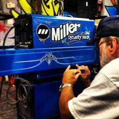 Miller Welder Stripe Job