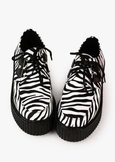 Zebra Creepers. Free 3-7 days expedited shipping to U.S. Free first class word wide shipping. Customer service: help@moooh.net