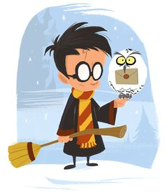 Harry Potter | art by Paco Vink