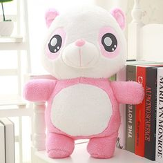 Cute 3D panda plush toys for kids or girls best birthday gifts decorative dolls