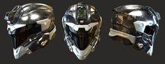 Helmet, David de Leon on ArtStation at https://www.artstation.com/artwork/0zJ8G