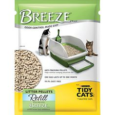 2 Pack of Purina Tidy Cats BREEZE Cat Litter Pellets Refill for Multiple Cats lb. Pouch Anti-Tracking Pellets: Help minimize tracking dust-free Litter pellets refill to be used with BREEZE Brand litter system Litter system and cat pads sold separately. Tidy Cat Litter, Cat Litter Pan, Best Cat Litter, Tidy Cats, Litter Box, Cat Accessories, Cat Supplies, Cat Food, Cool Cats