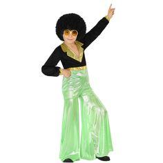 Disfraz de Disco Verde Niño #disfraces #carnaval #novedades2015