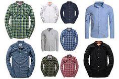 Neues-Herren-Shirts-Superdry-Versch-Modelle-und-Farben