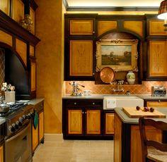 Burnt Orange Kitchen Cabinets custom kitchen cabinetskent moore cabinets. maple wood with