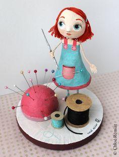 PETITE COUTURIÈRE * Little Needlewoman