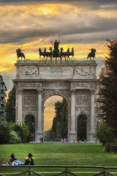 Arco della Pace, Milano Italy