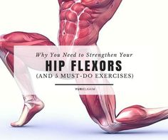 When was the last time you did a hip flexor workout? Probably never. But while you obviously don't have to do a full workout strictly targeting your hip flexors, you should add a few exercises to your routine to strengthen these forgotten muscles – because it prevents low back pain and rounded shoulders. Here are 5 of the best exercises to do! | Yuri Elkaim