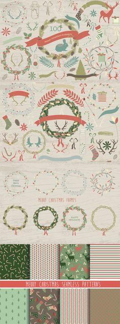 The {FREE} Festive Celebration Bundle #free #christmas #holiday #design