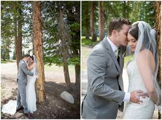 Plum Pretty Photography | Copper Mountain Wedding | Colorado Mountain Wedding | Ski Resort Wedding | Purple and Gray Wedding